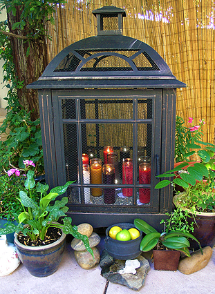 Faery Candle Shrine
